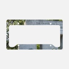 Das Republikdenkmal (The Repu License Plate Holder