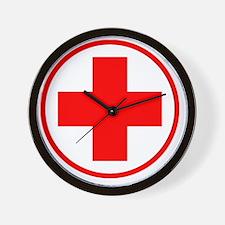 medic2 copy Wall Clock