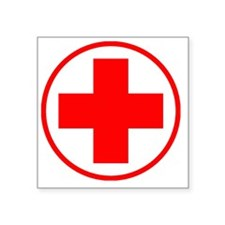 "medic2 copy Square Sticker 3"" x 3"""
