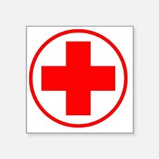 "medic2 copy Square Sticker 3"" x 3"""