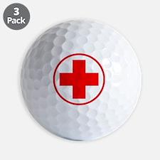 medic2 copy Golf Ball