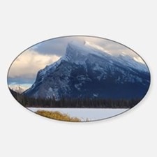 Mount Rundle and Vermillion Lake, B Decal