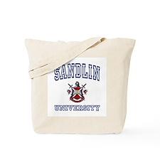 SANDLIN University Tote Bag