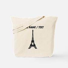 Custom Eiffel Tower Tote Bag