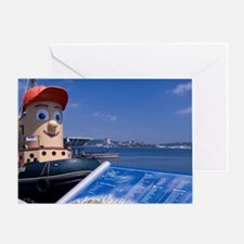 Halifax. Waterfront area. Waterfront Greeting Card