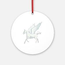 Pegasus Ornament (Round)