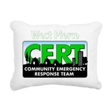 20111004 - CERT 2 Rectangular Canvas Pillow