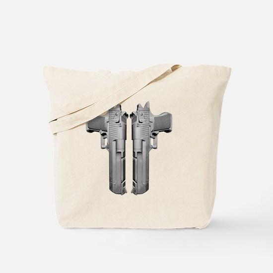 deserteagle_blk Tote Bag