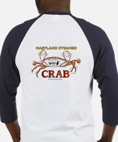Double Maryland Crab Baseball Jersey
