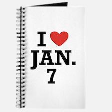I Heart January 7 Journal