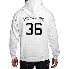 Miskatonic Team Number Hoodie