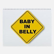 Baby in Belly Wall Calendar