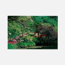 Butchart Gardens, British Columbi Rectangle Magnet