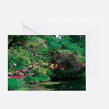 Butchart Gardens, British Columbia,  Greeting Card