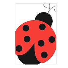ladybug Postcards (Package of 8)