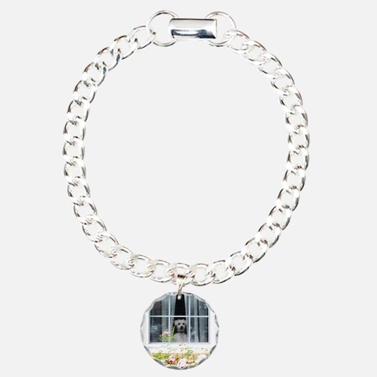 Zak in the windowA Charm Bracelet, One Charm