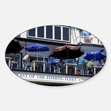 Outdoor water front dining at Lunen Decal