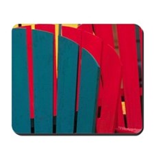 Bridgewater. Colorful adirondack chairsC Mousepad