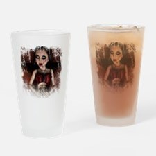 melissa murder (black) Drinking Glass