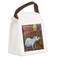 The Clock Is Ticking Canvas Lunch Bag