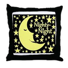 nighty-night Throw Pillow