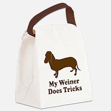 weiner4 Canvas Lunch Bag