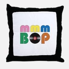 mmmbop Retro Style Shirt Throw Pillow