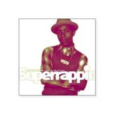 "phife_dawg_superrappin-cove Square Sticker 3"" x 3"""