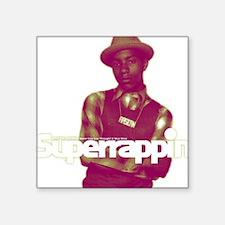 """phife_dawg_superrappin-cove Square Sticker 3"""" x 3"""""""