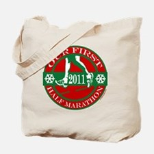 2011 our first half ornament Tote Bag