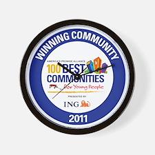 WIN COMMUNITY SEAL BASIC Wall Clock