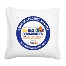 WIN COMMUNITY SEAL APA Square Canvas Pillow