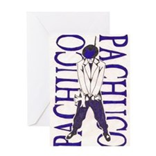 PACHUCO 002 Greeting Card