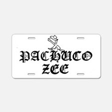 PACHUCO Z Logo 005 Aluminum License Plate