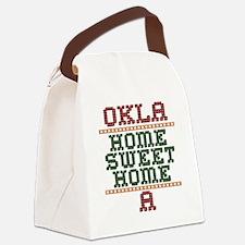 OKLAHOMESWEETHOMEA Canvas Lunch Bag