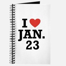 I Heart January 23 Journal