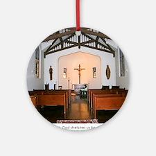 St Paul Seminary Chapel Round Ornament