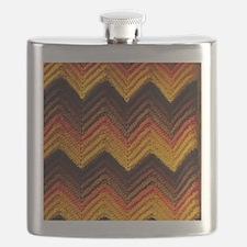 1970s PRINT VII Flask