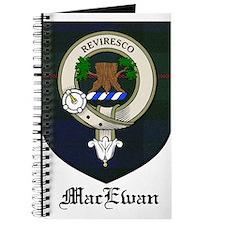 MacEwan Clan Crest Tartan Journal
