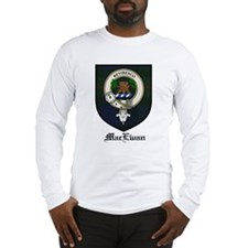 MacEwan Clan Crest Tartan Long Sleeve T-Shirt