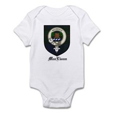 MacEwan Clan Crest Tartan Infant Bodysuit