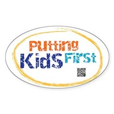 putting kids first Decal
