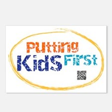 putting kids first Postcards (Package of 8)