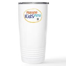 putting kids first Travel Mug