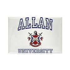 ALLAN University Rectangle Magnet