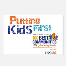 putting kids first2 Postcards (Package of 8)