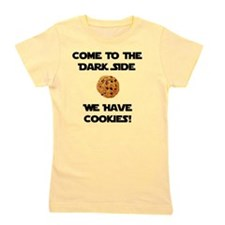 Dark Side Cookies Black Girl's Tee