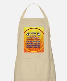 God-I Love This Place-circle2 Apron