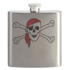To Arr Is Pirate Adult White Flask