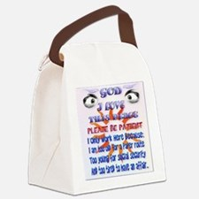 God-I Love This Place_pillow Canvas Lunch Bag